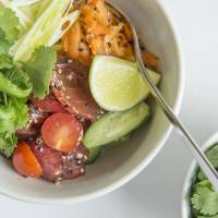 The store's tuna poke rice bowl will also be available in Japan.