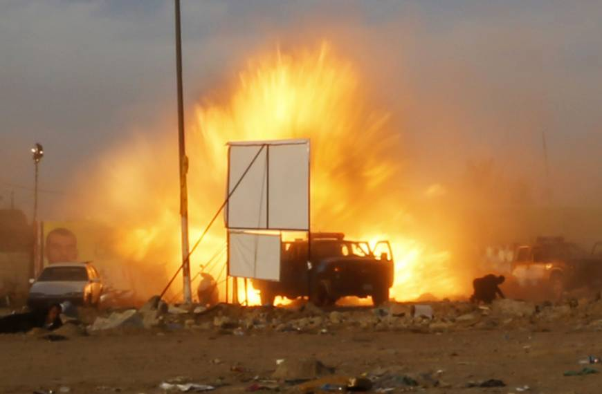 Bombers kill 31 at Iraq campaign rally for Shiites