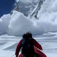 Highest of stakes on Everest's slopes