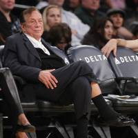 In hot water: Los Angeles Clippers owner Donald Sterling is being investigated for allegedly making disparaging comments about blacks on an audio tape. | AP