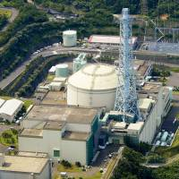 The Japan Atomic Energy Agency, which runs the experimental Monju fast-breeder reactor in Fukui Prefecture (above), is suspected of falsifying inspection reports to nuclear regulators. | KYODO