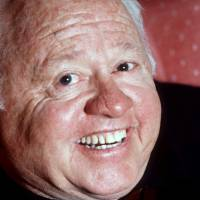 Entertainment legend Mickey Rooney is seen in this May 1987 file photo. Rooney, whose more than 80-year career spanned silent comedies, Shakespeare, Judy Garland musicals, Andy Hardy stardom, television and the Broadway theater, died Sunday at age 93. | AP