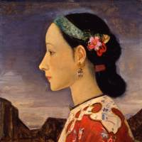 Fujishima Takeji 'Profile of a Woman' (1927) | POLA COLLECTION