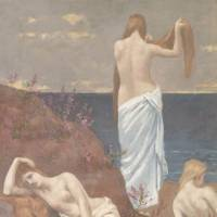Perennial themes: 'Young Women by the Sea' (1879) Musée d'Orsay, © RMN-Grand Palais (musee d'Orsay) / Hervé Lewandowski /distributed by AMF-DNPartcom