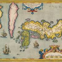 New views: 'The Map that Introduced Japan to the World'  | © MEIJI UNIVERSITY LIBRARY