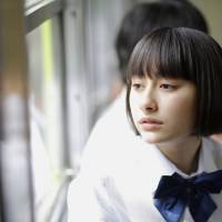 Trouble in a school uniform: Momose is the film's eponymous (and contemptuous) 'Pretend Girlfriend,' played by former idol Akari Hayami in her first starring role. | © 2014 EIGA