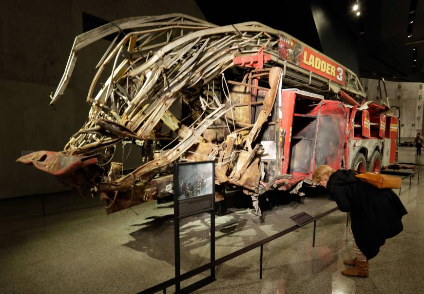 9/11 museum offers sights, sounds of tragedy