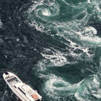 Shikoku whirlpool study of Naruto Strait shows atomic potential
