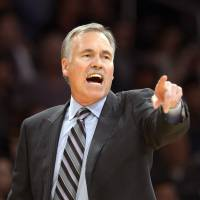 Lacked support: Mike D'Antoni resigned as coach of the Los Angeles Lakers on Wednesday after two seasons at the helm.   AP
