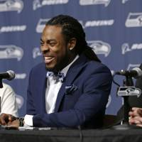 Seahawks, Sherman agree to lucrative four-year extension