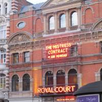 The Royal Court Theatre  in London's swanky Chelsea district.   NOBUKO TANAKA