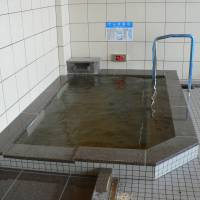 Shocking baths of Japan — enter if you dare: The white panels on the side of this bath harbor electrodes.