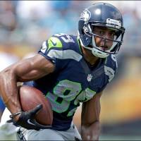 Reliable target: Seattle wide receiver Doug Baldwin caught 50 passes and had five touchdown receptions last season as the team won the Super Bowl. | AP