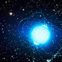 Cosmic riddle: An artist's impression of the magnetar in Westerlund 1, a star cluster about 16,000 light-years away. | AFP-JIJI