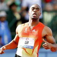 Long leave of absence: U.S. sprinter Tyson Gay has accepted a one-year suspension, retroactive to June 23, 2013, as punishment for failing a doping test in 2013. Gay also returned his silver medal from the 2012 Olympics. | REUTERS