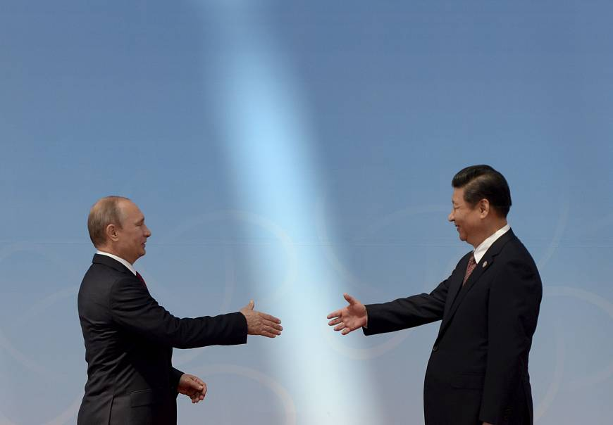 China hands Russia get of jail free card: $400 billion gas deal