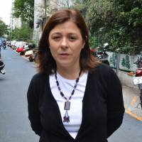 Helen Rivero, Ex-teacher, now full-time mother, 44 (Uruguayan)