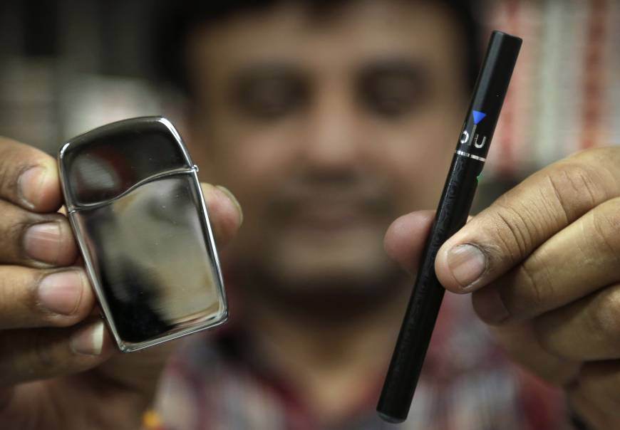 Study finds e-cigarettes help smokers to snuff the habit