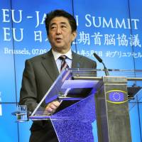Japan, EU agree to speed up trade talks