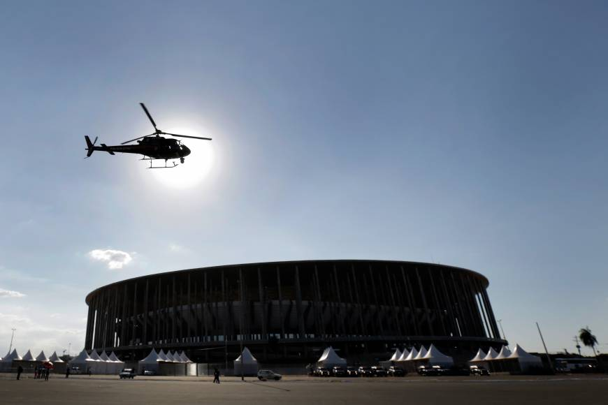 Brazil mobilizes 157,000 security force for World Cup