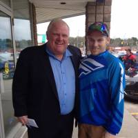 Toronto Mayor Ford spotted in Ontario town despite rehab claims