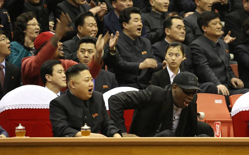 Rodman claims North Korean leader didn't execute his uncle