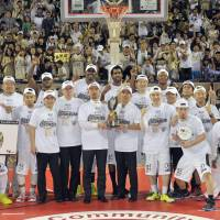 Golden Kings dismantle Happinets in bj-league final; Kishimoto named MVP