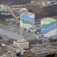 Kyushu Electric Power Co.'s Sendai nuclear power plant in Kagoshima Prefecture is shown in January.  | KYODO