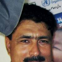 Pakistani Doctor Shakil Afridi is shown in Pakistan's tribal area of Jamrud in the Khyber region on July 9, 2010. The lawyer for Afridi, who helped the United States locate Osama bin Laden, said Sunday that he wouldn't represent him any longer after facing threats from militants, even as America pushes for the man to be freed. | AP