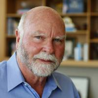 Genetic researcher J. Craig Venter is pictured in his office in La Jolla, California, on March 7. | REUTERS