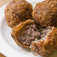 On order: Restaurant Kuroge Shichirin will serve big fried beef meatballs along with other dishes at the Food Nations Meat Fes.