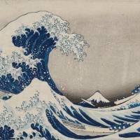 The 'Great Wave' that reached the West