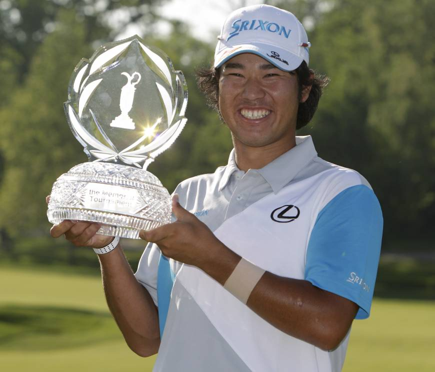 Matsuyama wins playoff to claim Memorial title