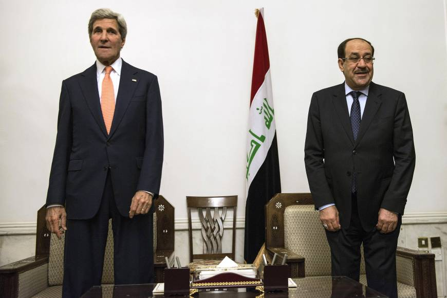 Weak military leaves Iraq's government with few options