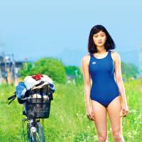 A strange request: Ayako Goto (Yuiko Kariya), a hirsute girl on the swim team, asks a friend to shave her arms in 'Sweet Poolside.' | © 2014 'SWEETPOOLSIDE' FILM PARTNERS
