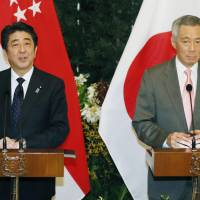 Singapore PM urges Japan to 'act cautiously' on history