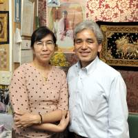 Home from home: Noticing that Asian cuisine was slowly catching on in Japan, particularly among the younger generation, Kyaw Kyaw Soe and his wife, Nwe Nwe Kyaw, opened Ruby in 2002. | YOSHIAKI MIURA