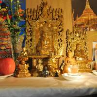 Taste of Burma: The Ruby restaurant was launched in 2002 after Kyaw Kyaw Soe and Nwe Nwe Kyaw asked the spirits for their blessing. | YOSHIAKI MIURA