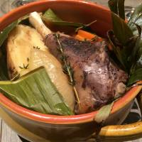 Arossa in Ginza, Tokyo, serves a fairly authentic hangi — a Maori dish of lamb shank and vegetables — plus other lamb options. | REBECCA MILNER