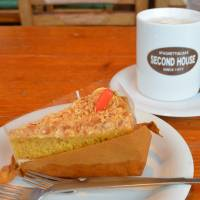 Carrot cake at Second House. | J.J. O'DONOGHUE