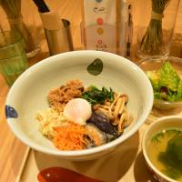 Super bowl: Marumo's version of the Korean dish bibimbap. | JJ O'DONOGHUE