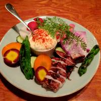 Dig in: The aioli plate at Ata, which is Swedish for 'eat.' | ROBBIE SWINNERTON