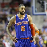 Back to the future: The New York Knicks have agreed to a six-player trade that will send center Tyson Chandler back to the Dallas Mavericks. | AP