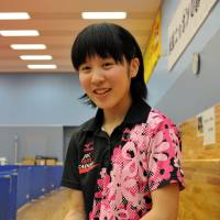 Looking ahead: Miu Hirano is in her second year as a part of the JOC Elite Academy. | YOSHIAKI MIURA