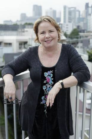 People skills: Georgina Pope believes her foreignness helped open doors for her. | YU IWASAKI