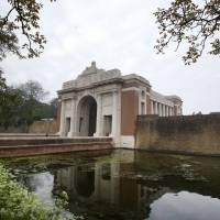 The Menin Gate in Ypres, Belgium, is one of the most visited monuments on the Western Front. | AP