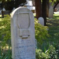 Italy honors artists with inspirational memorials