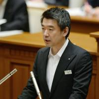 Hashimoto seeks Your Party tie-up