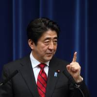 Shinzo Abe BLOOMBERG