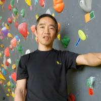 Visually impaired man reaching new heights